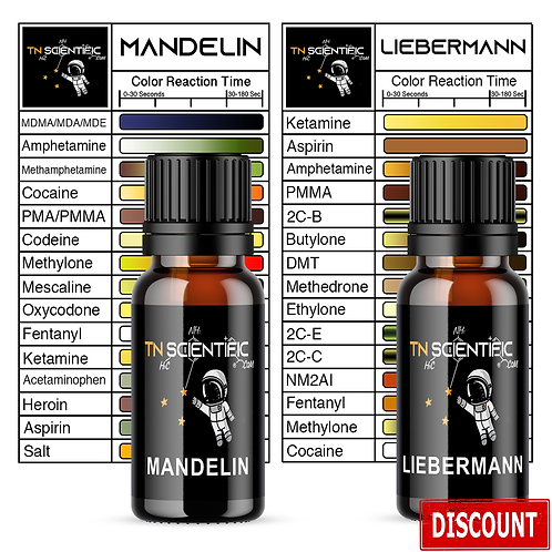 TN Scientific | Mandelin & Liebermann Reagent Testing Kit ~
