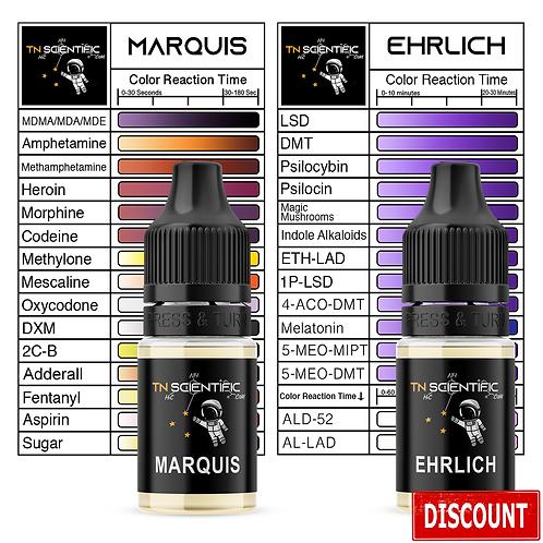 TN Scientific | Marquis & Ehrlich Reagent Testing Kit