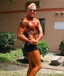 Husband Tobe after prejudging at the 2016  Contra Costa Championships