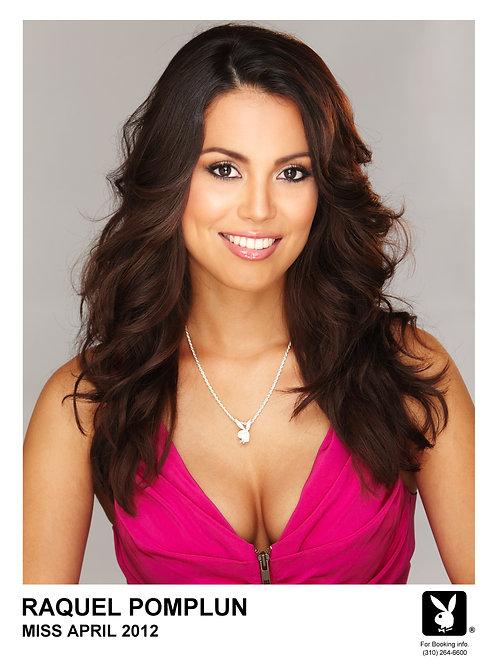 Official Raquel Pomplun Playboy Miss April Headshot