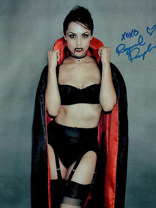 "Raquel Pomplun ""Dracula"" Autographed 8 x 10"