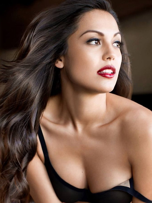 "Raquel Pomplun 8x10 ""Playboy Headshot"" (Autographed)"