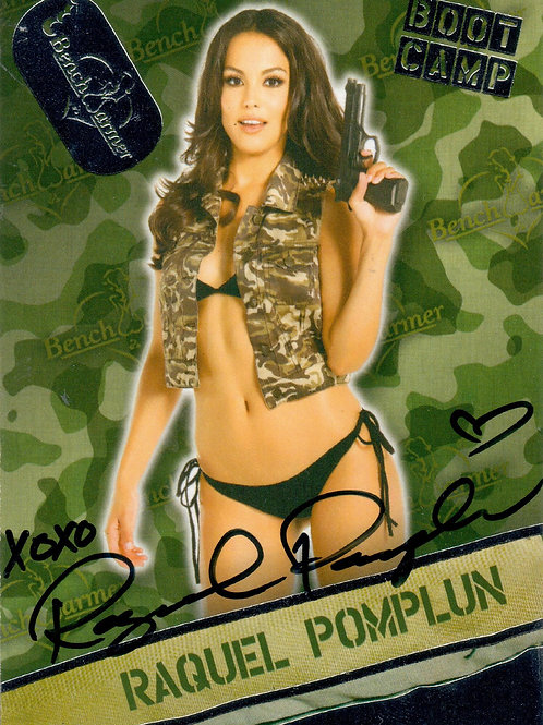 "Raquel Pomplun Benchwarmer ""Boot Camp"" Card"