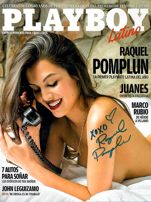 Playboy Latino Diciembre 2014/Enero 2015 Autographed Issue