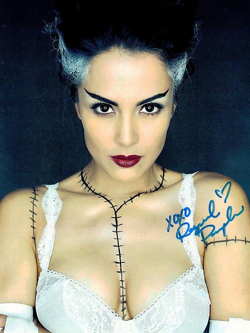 """Raquel Pomplun """"Bride"""" Autographed 8 x 10"""
