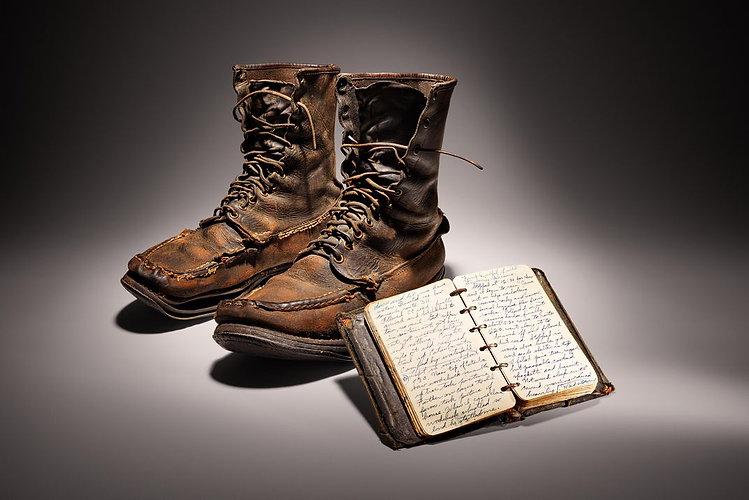 earl boots smithsonian Earl Shaffer Foun