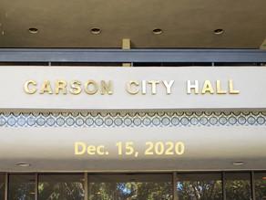 Special Council Meeting Recap: Dec. 15, 2020