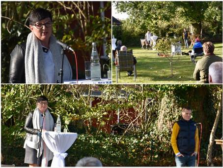 Marlis Stagat punktet beim Kandidaten-Garten-Treff