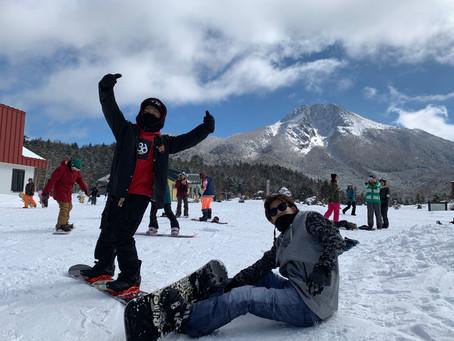 1年に一度のスノーボード!?