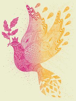 Starbucks Dove Poster