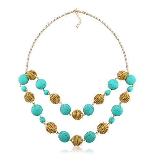 Collier Couleur turquoise