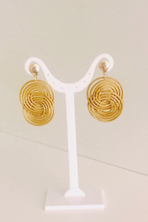 Boucles d'oreilles Symbole  8