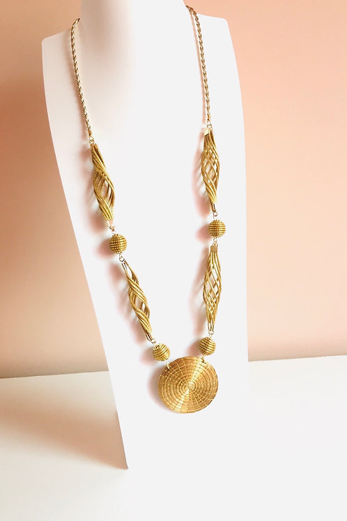 Collier 3 formes.