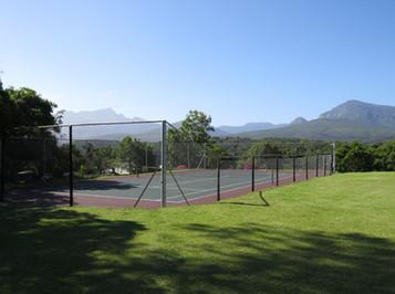 Wilderness Metanoia tennis court