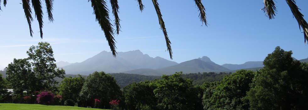 Outeniqua Mountains view