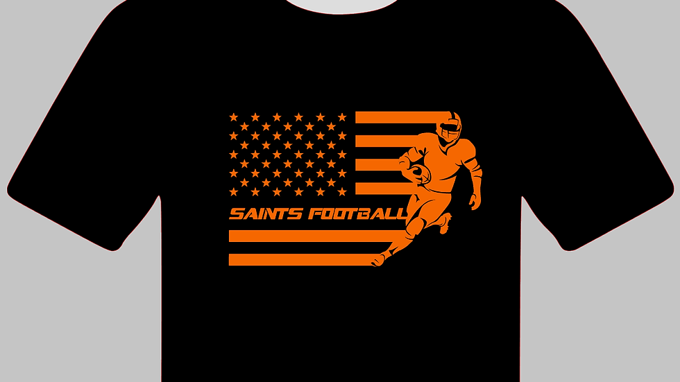 Saints or Spartans Football Dry Fit Shirt