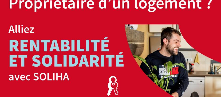 """Campagne """"les clés de la Solidarité avec SOLIHA"""""""