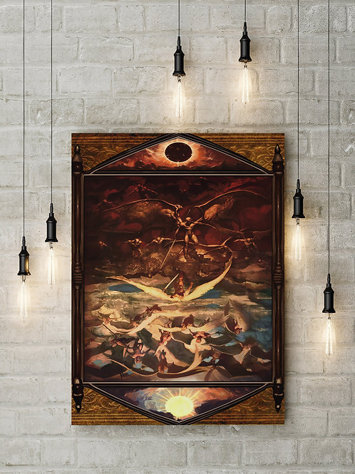 Rise of the Rebel Angels, Demons from Above, Custom Canvas or Poster