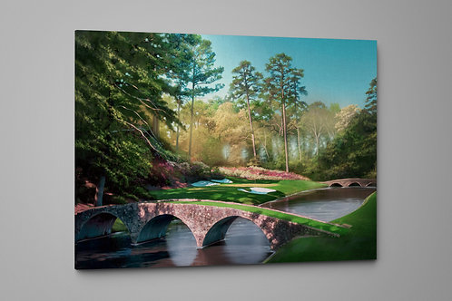 Here Comes Amen Corner at August, Custom Raised Canvas or Poster Art