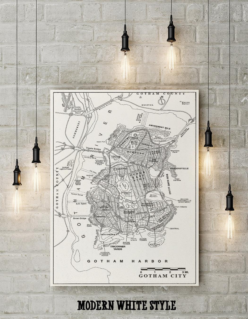 Gotham Map on