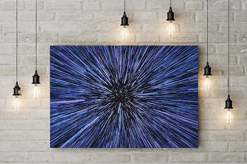 Commencing Jump to Hyperspace, Custom Made Canvas or Poster Art