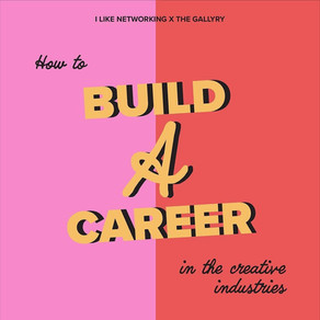 How to build a career in the creative industries