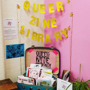 The diy queer zine library celebrating LGBTQIA+ radical self-publishing