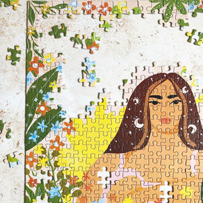 The prettiest puzzles supporting female artists
