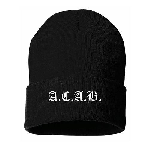 A.C.A.B. Beanie