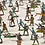 Thumbnail: Dorfbewohner, Armee, Ritter, König Aus dem Altertum Zinnfiguren