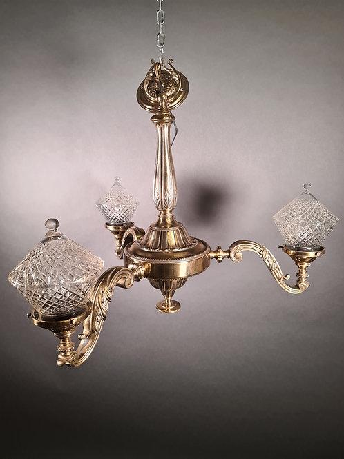 Deckenlampe, Art Deco um 1950
