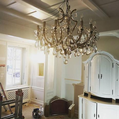 Wonderfull chandelier from the 19twentys