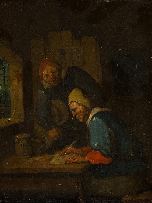Van Heemskerk, Egbert (der Jüngere). Haarlem 1634/35 oder 1645 – 1704 London