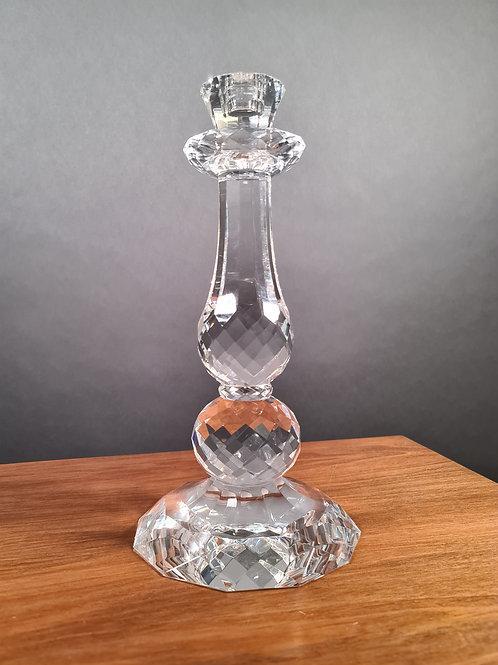 Böhmisch Kristallkerzenständer