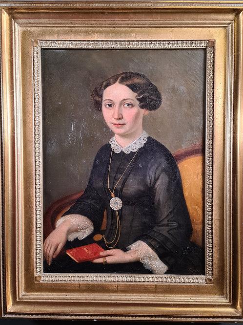 Portrait einer jungen Frau, 19. Jahrhundert