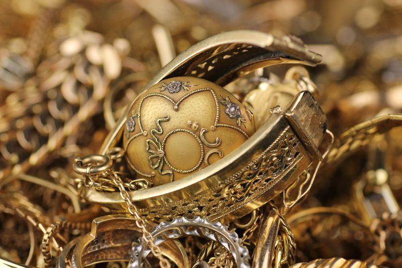 Altgold, Silber