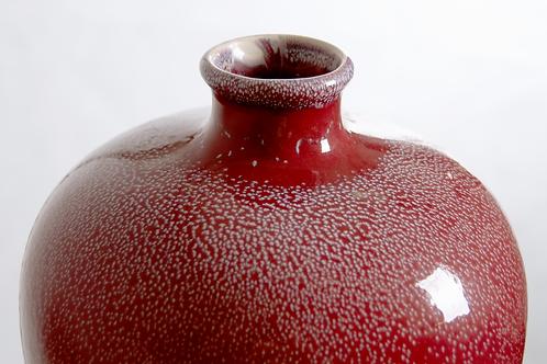 Vase China, Meiping wohl frühes 20. Jahrhundert