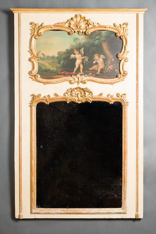 Trumeau Louis XV. Frankreich. Um 1740.