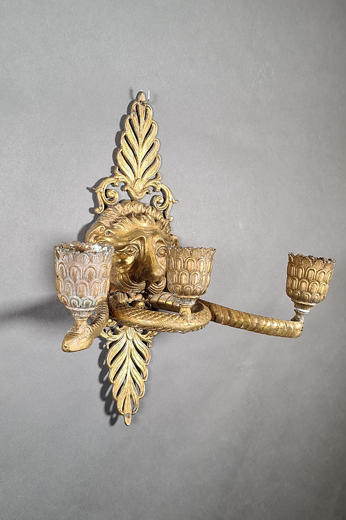 1 Paar Kerzen-Appliquen Empire