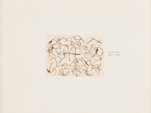 Miró, Joan. Barcelona 1893 – 1983 Palma