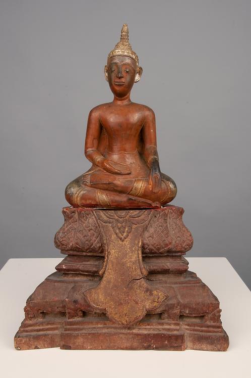 Sitzender Buddha, Thailand  Anfangs 20. Jahrhundert