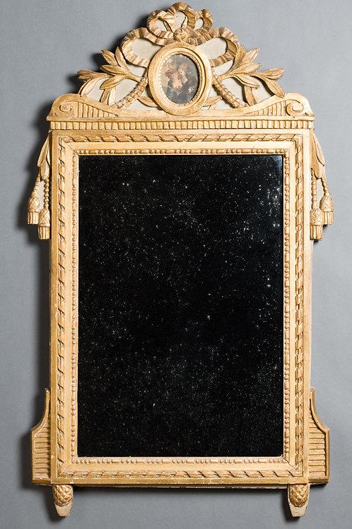Spiegel Louis Seize. Frankreich. Um 1780.