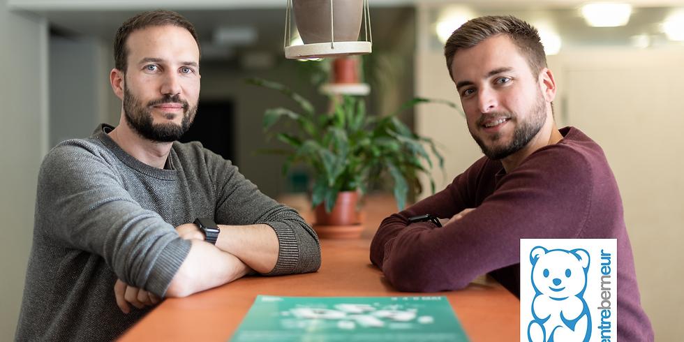 Talk mit entreBERNeur's Florian Steiner und Thomas Oehrli