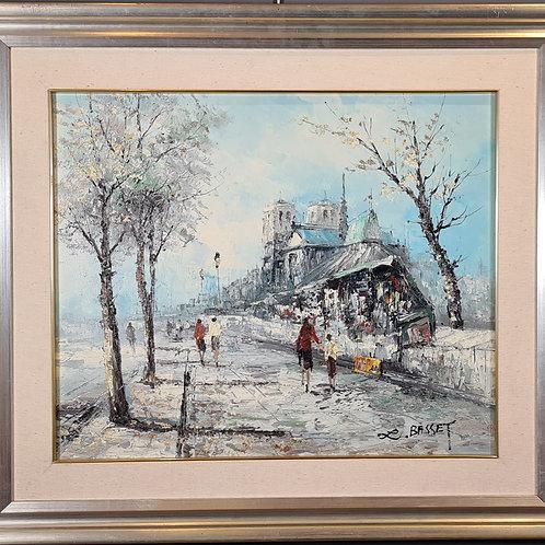 Louis Charles Basset (Paris 1948), Ansichten von Paris