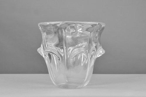 Kristall-Vase, Art Deco