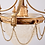 Thumbnail: Leuchter klassizistisch um 1900
