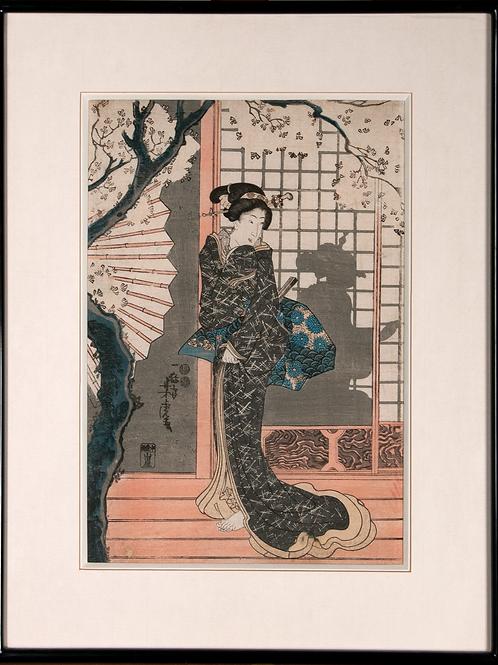 Utagawa Yoshitora - Spring Moon