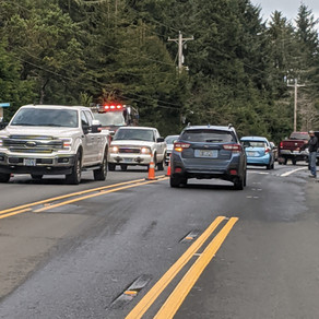 Numerous Crashes Tie Up Traffic