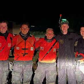 Station Yaquina Bay Crew Rescues Fisherman From Surf