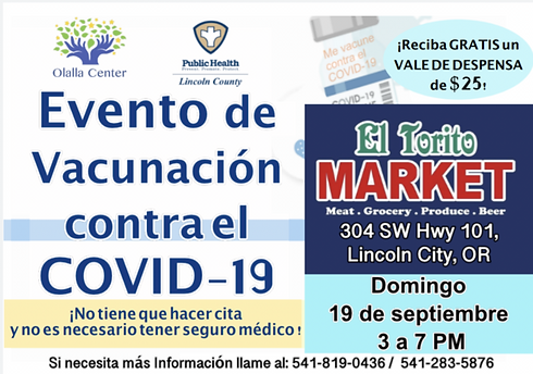 Olalla Center Sept 19 Vaccine Event Spanish.png